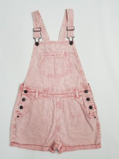 M AND S Girls Jeans  Romper (PINK) (6 to 13 Years)