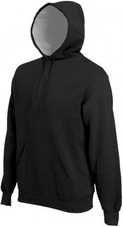 KARIBAN Mens Hoodi (BLACK) (M - L - XL - XXL)
