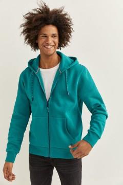 SPRINGFIELD Mens Hoodi Zipper (BLUE) (S - M - L - XL - XXL)