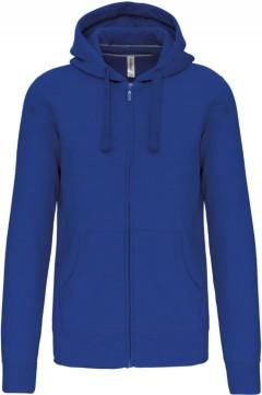 KARIBAN Mens Hoodi Zipper (BLUE) (M - L - XL)