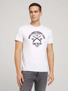 TOM TAILOR Mens T-Shirt (WHITE) (S - M - L - XL)