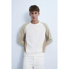 ZARA Mens SweatShirt (GREEN - WHITE) (S - M - L - XL - XXL)