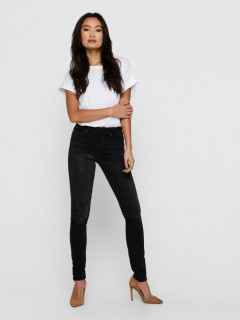ONLY Ladies Jeans (BLACK) (25 to 33 WAIST)