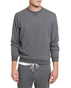 EVERBAST Mens SweatShirt (GRAY) (S - M - L - XL - XXL)