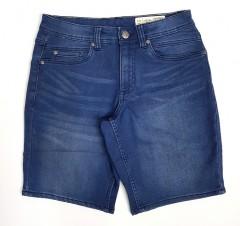 LIVERGY CASUAL FIT Mens Denim Jeans Short (BLUE) (30 to 42)