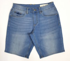 LIVERGY CASUAL FIT Mens Denim Jeans Short (LIGHT BLUE) (30 - 42 )