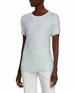 TOM TAILOR Ladies T-Shirt (LIGHT BLUE) (S - M - L - XXL)