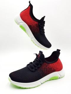 Mens Shoes (BLACK _ RE D) ( 40 to 45)