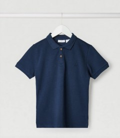 MANGO Boys Polo Shirt (NAVY) (5 to 14 Years)