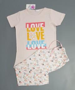 COTTON CANDY Girls 2 Pcs Pyjama Set (PINK) (2 to 11 Years)