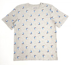 SIMPLY STYLED Boys T-shirt (GRAY) (5 to 16 Years)