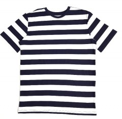 SIMPLY STYLED Boys T-shirt (WHITE - NAVY) (4 to 20 Years)