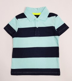 H AND M Boys Polo Shirt (LIGHT BLUE - NAVY) (2 to 10 Years)