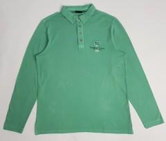 BEXLEYS Mens Long Sleeved Shirt (GREEN) (M - L - XL - XXL)