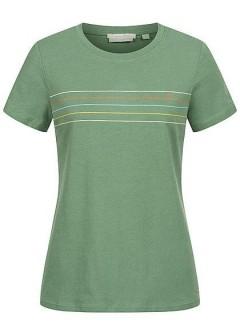 TOM TAILOR Ladies T-Shirt (GREEN) (XS - S - M - L - XL - XXL)