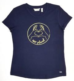 TOM TAILOR Ladies T-Shirt (BLACK) (XS - S - M - L - XL - 2XL)