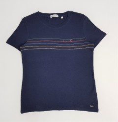 TOM TAILOR Ladies T-Shirt (NAVY) (XS - S - M - XL)