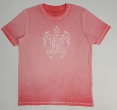 MANGUUN Mens T-Shirt (RED) (XL - XXL)