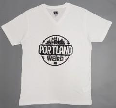 Mens T-Shirt (WHITE) (L - XL - XXL)
