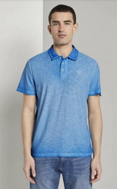 TOM TAILOR Mens Polo Shirt (BLUE) (XS - S - M - L - XL - XXL - 3XL)