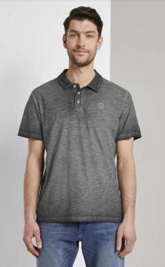 TOM TAILOR Mens Polo Shirt (BLACK) (S - M - L - XL - XXL - 3XL)