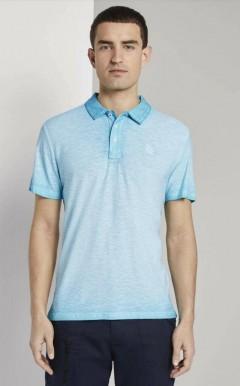TOM TAILOR Mens Polo Shirt (LIGHT BLUE) (XS - S - M - L - XL - XXL - 3XL)