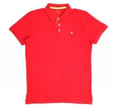 TOM TAILOR  Mens Polo Shirt (RED) (S- M - L - XL - 2XL - 3XL)