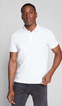 TOM TAILOR  Mens Polo Shirt (WHITE) (S - M - L - XL - 2XL - 3XL)