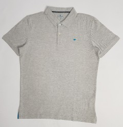 TOM TAILOR Mens Polo Shirt (GRAY) (M - L - 3XXL)
