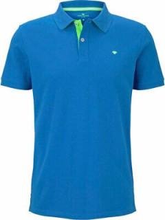TOM TAILOR Mens Polo Shirt (BLUE) (S - M - L - XL - XXL - 3XL)