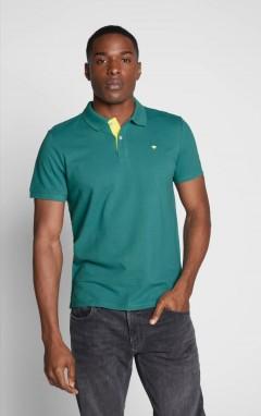 TOM TAILOR  Mens Polo Shirt (GREEN) (S- M - L - XL - 2XL - 3XL)