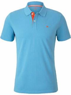 TOM TAILOR Mens Polo Shirt (LIGHT BLUE) (S - M - L - XL - XXL - 3XL)