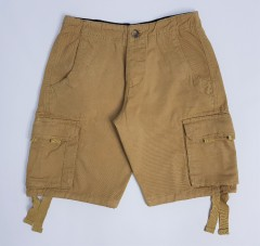 PULL AND BEAR Mens Short (LIGHT BROWN) (28 to 38)