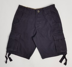 PULL AND BEAR Mens Short (BLACK) (28 to 38)