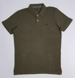 TOM TAILOR Mens Polo Shirt (GREEN) (S - M - L - XL - XXL)