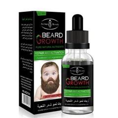 Caffeine Beard Growth Stimulating Oil for Facial Hair Grow | Fuel Healthy Growth | Fragrance Free Beard Oil(40ml) (MA)