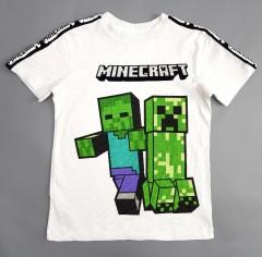 MINECRAFT Boys T_Shirt (WHITE) (3 to 15 Years)