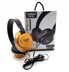 LELISU Wired Headphone with Mic / LS-806 (GLOD) (ONE SIZE) (FRH)