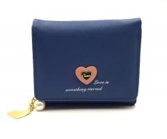 Ladies Wallet (BLUE) (Os) (FRH)