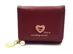 Ladies Wallet (MAROON) (Os) (FRH)