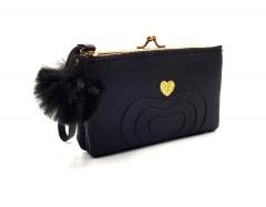 Ladies Wallet (BLACK) (Os) (FRH)