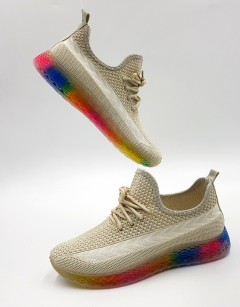 WOMEN KEY Ladies Shoes (CREAM) (36 to 41)