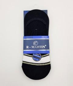 R-MARTIN Mens Loafer Socks 3 Pcs Pack (RANDOM COLOR) (FREE SIZE)