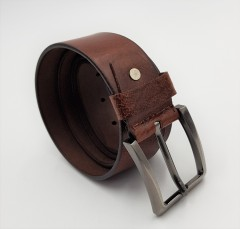 R-MARTIN Mens Belt (BROWN) (FREE SIZE)