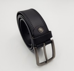 R-MARTIN Mens Belt (BLACK) (Os)