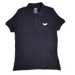 BATMAN Mens Polo Shirt (BLACK) (S - M - L - XL - XXL)