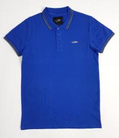 DAVYSON Mens Polo Shirt  (BLUE) (S - M - L - XL - XXL)