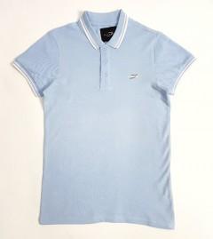 DAVYSON Mens Polo Shirt  (LIGHT BLUE) (S - M - L - XL - XXL)