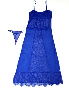 LADIES Night Wear (BLUE) (FREE SIZE) (FRH)
