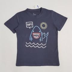BASIC  Boys T-Shirt (NAVY) (2 to 10 Years)